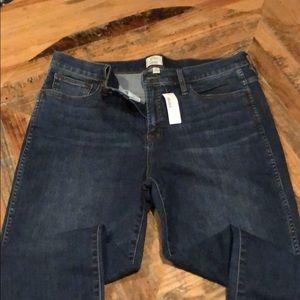 J. CREW blue jeans